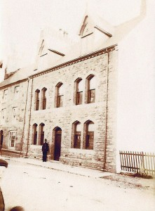 Cardigan Police Station circa 1896 (J T Mathias)