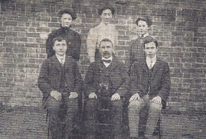 Staff of Cardigan National School circa 1925 (Cardigan & Tivy-Side Advertiser)