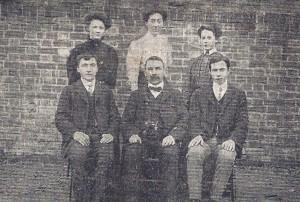 Staff of Cardigan National School circa 1925 (Cardigan & Tivy-Side Advertiser)
