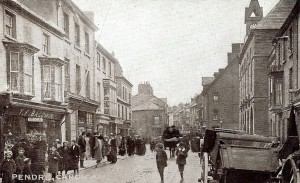 Pendre in 1915 - No. 55 on the left - T F Baldwin's (Glen Johnson Collection)